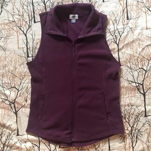NWT Purple Old Navy Performance Fleece Vest Size S